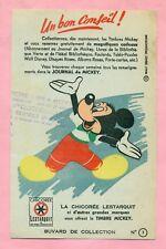BUVARD CHICOREE LESTARQUIT / JOURNAL DE MICKEY  - WALT DISNEY PRODUCTION