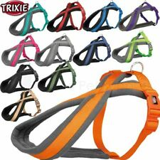 More details for trixie dog premium touring harness padded fleece straps adjustable strong