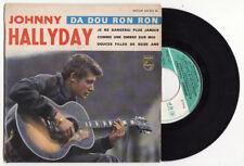 EP  JOHNNY HALLYDAY-da dou ron ron-Philips-FRENCH