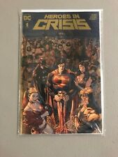 HEROES IN CRISIS 1 DC BOUTIQUE GOLD FOIL VARIANT Tom King Mikel Janin DC Comics