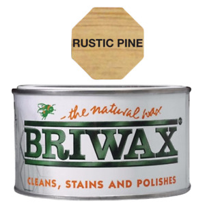 BRIWAX ORIGINAL NATURAL POLISH 400G - WOOD CARE FOR ALL TYPES OF WOOD FURNITURE