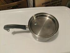 Saladmaster T304S 2.5 qt saucepan pot w/ vapor lid