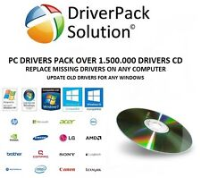 PC  DRIVERS DISC DRIVER RECOVERY UPDATE  DVD FOR WINDOWS  XP 7 8 8.1 10