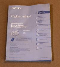 User's manual for Sony Cyber-shot DSC-H2 or DSC-H5