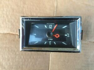 mercedes fintail 111 coupe interior time clock, good order and keeps time