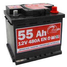 Autobatterie Speed 12V 55Ah 480A  Batterie statt 36Ah 44Ah 45Ah 50Ah 52Ah 54Ah