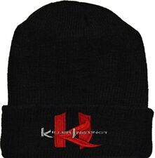 Killer Instinct Wool Hat Black Beanie Knit Nintendo Arcade Videogame NES Console