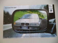 advertising Pubblicità 2000 BMW SERIE 3 4X4