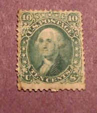 US Stamp Scott# 68 Washington 1861-62 Mint?  L25