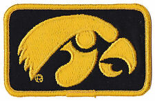 "IOWA HAWKEYES NCAA COLLEGE VINTAGE 4"" LOGO PATCH"
