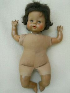Vintage Horsman Black African American Baby Doll / Cries