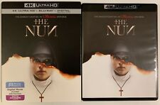 THE NUN 4K ULTRA HD BLU RAY 2 DISC SET + SLIPCOVER SLEEVE FREE SHIPPING HORROR