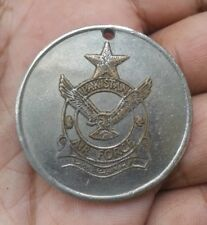 PAKISTAN AIR FORCE MEDAL WITH EAGLE & AIR CRAFT 25.31 GRAMS