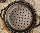 Lodge 7 Quart Pre-Seasoned Cast Iron Dutch Oven. Classic, Pot with Defects