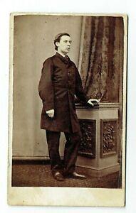 Victorian  cdv photo man standing Kendal photographer