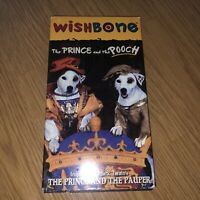 Wishbone The Prince And The Pooch VHS VHTF Rare Tested! OOP TESTED & WORKS