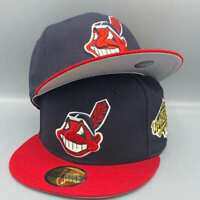 Cleveland Indians 1995 World Series New Era 59FIFTY Navy & Red Hat