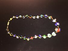 GORGEOUS VINTAGE MURANO VENETIAN ART GLASS NECKLACE