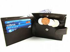 Portafogli da uomo portamonete marrone con porta carte di credito