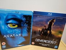 Avatar & Divergent Blu Ray UK Release