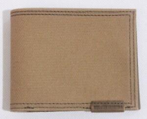 Duluth Trading Co. Men's Slim Fire Hose Bi-Fold Wallet BP4 Brown