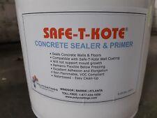 Concrete Sealer/Primer Clear 5 gallon Non Hazardous