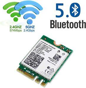 Intel 7260 7265 8265 8260 9260 AX200 Dual Band Wireless+Bluetooth MINI WIFI Card