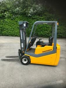 JUNGHEINRICH 1800KGS ELECTRIC FORKLIFT 2.7m Mast & Sideshift. New battery fitted