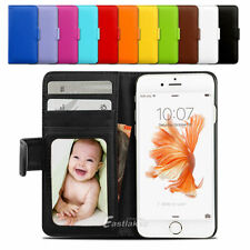New Premium Flip Wallet Case PU Leather Card Slot Cover For iPhone X 8 7 6S Plus