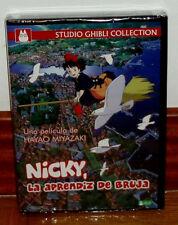 NICKY LA APRENDIZ DE BRUJA DVD NUEVO PRECINTADO STUDIO GHIBLI (SIN ABRIR) R2