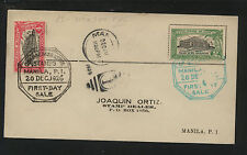 Philippines   354-355   first  day  cover  1926         AT0909