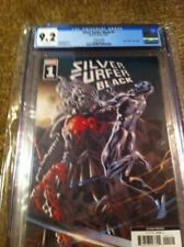 SILVER SURFER BLACK #1 2ND PRINT KNULL COVER CGC 9.2