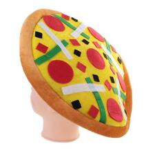 Pizza Carnival Birthday Christmas Fancy Dress Costume Party Hat Fast Food