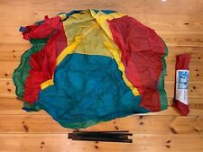 Retro 1990's Children's Play Outdoor Tent Multicoloured Red/ Blue/ Yellow/ Green