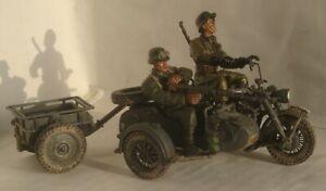 Forces of Valor 82006, Zundapp KS750 Side Car, Eastern Front 1943, 1:32 (boxed)