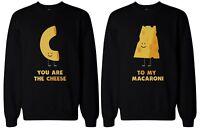 Cute Macaroni and Cheese Best Friend Matching Sweatshirts
