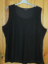 Lace Plus Size Sleeveless Tops & Shirts for Women