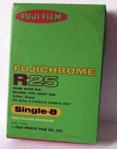 Fuji FUJICHROME R25 Single-8 Color Film