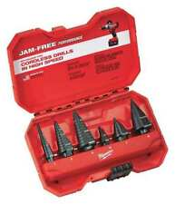 HSS Step Drill Bit Set 1/8-1-3/8 In, 6 pc MILWAUKEE 48-89-9224
