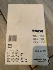 Wix WA6278 Air Filter, Honda Accord Aerodeck, IV, V, VI. (C25372 CA6807)