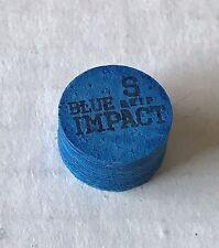 Navigator Blue Impact Soft Grip Premium Pool Cue Tips 1 Tip FREE Shipping