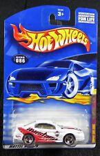 2001 Hot Wheels  White '99 Mustang  Company Cars Series  Card #086  HW-23-110117