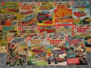 14 Vintage Charlton Comics Comic  Books 1967 - 1971