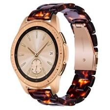 V-MORO Resin Strap Compatible with Galaxy Watch Bands 42mm Women 20mm Fashion Br