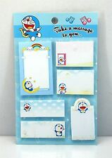 Cute Doraemon themed sticky post-it memo Notes V40