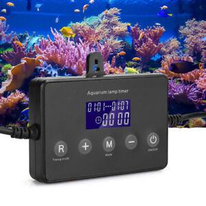 LED Aquarium Dimmer Timer Fish Tank Light Controller Modulator Timing Dimming