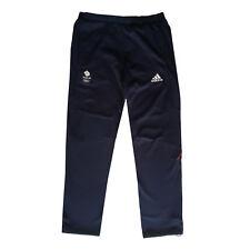 """Adidas Team GB problème Rio Jeux Olympiques 2016 Elite ATHLETE Bleu Sweat Pants taille 38"""""""