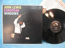 John Lewis, European Windows, RCA Victor Records LPM 1742,1958, JAZZ/CLASSICAL