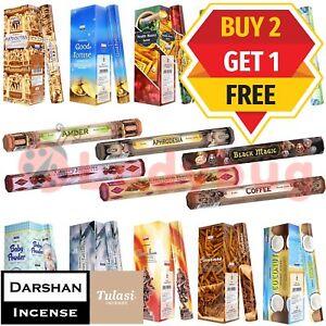 Incense Stick Sticks Scents Darshan / Tulasi Hexagon Meditation Aroma Fragrance