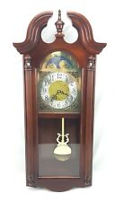 Howard Miller Wall Clock Battery Powered Windsor Cherry Fenwick Hardwood 620-159